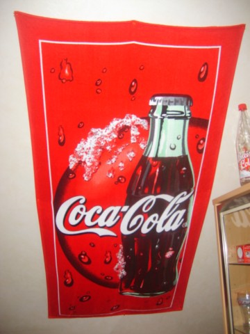 Serviette De Bain Coca Cola.Coca Collection Textiles